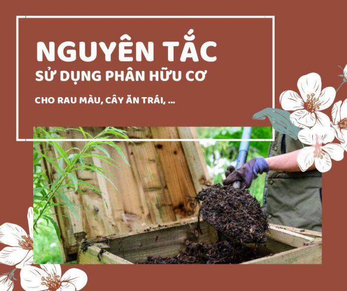 sử dụng phân hữu cơ góp phần bảo vệ môi trường