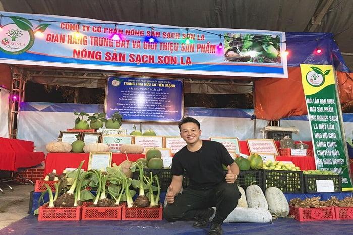 Farm đã đạt chứng nhận Hữu cơ theo Tiêu chuẩn Nông nghiệp hữu cơ Quốc gia